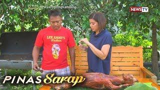 Video Pinas Sarap: Lechon kambing ng Tarlac, paano niluluto? MP3, 3GP, MP4, WEBM, AVI, FLV Desember 2018