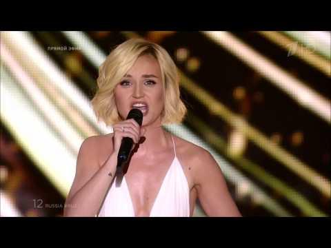 Полина Гагарина   A Million Voices 2015, HDTV 1080i, Евровидение 2015  Первый полуфинал  Eurovision (видео)