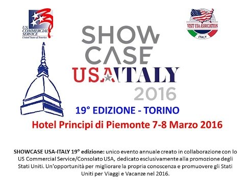 Video SHOWCASE USA - ITALY 2016