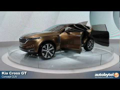 Kia Cross GT Concept At The 2013 Chicago Auto Show