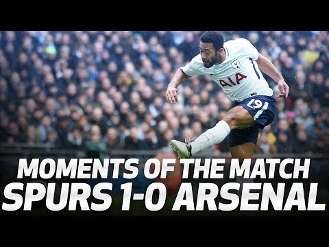 Video: MOMENTS OF THE MATCH | Spurs 1-0 Arsenal