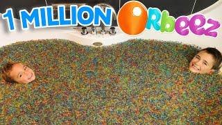 Video 1 MILLION D'ORBEEZ dans un BAIN GÉANT ! - ORBEEZ BATH PARTY SPA MP3, 3GP, MP4, WEBM, AVI, FLV Juli 2017