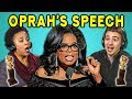 ADULTS REACT TO #TimesUp (Oprah's Speech, Golden Globes, #MeToo)
