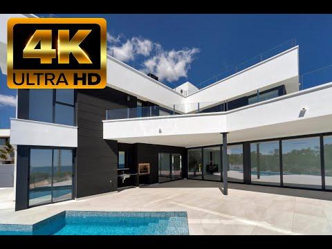 2 200 000€ Новый дом с видом на море в Кальпе/150м до пляжа/Элитная недвижимость на Коста Бланке