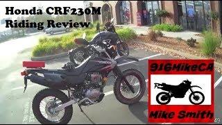 6. Honda CRF230M Riding Review