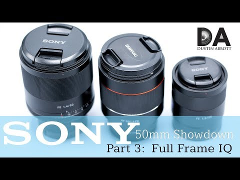 Sony FE 50mm Shootout | Round 3: FF Image Quality | 4K