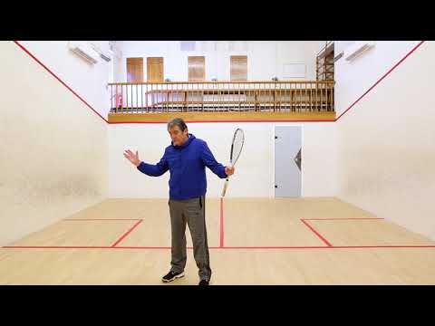 Squash tips: Attacking position with David Pearson