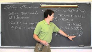 Modeling With Functions Part 1