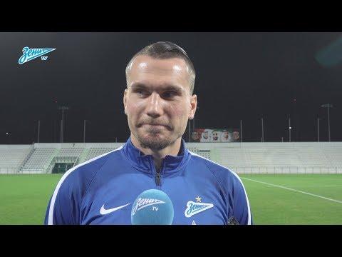 Антон Заболотный на «Зенит-ТВ»: «Кульбиты Ноги пока ещё не в том состоянии так что пока рано» - DomaVideo.Ru