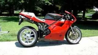 6. Ducati 955 engine sound