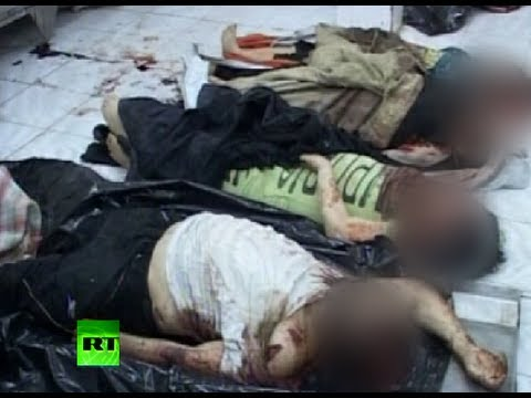 Graphic video: Syrian family 'slain by rebels' in Hama massacre
