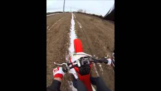 2. 2013 Honda CRF150R Top Speed -GOPRO