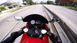 10. Fun with the Hyosung GT650R