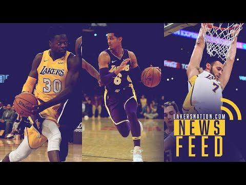 Video: LN News Feed: L.A. Preparing BIG Moves With Jordan Clarkson, Julius Randle & Larry Nance Jr.