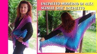 Download Video Gile Uncinetto Fenice Tutorial Ogni Taglia Alex