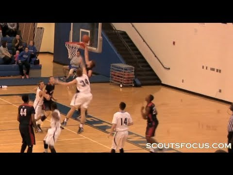 Zach Hodskins Amazing One Handed Basketball Player