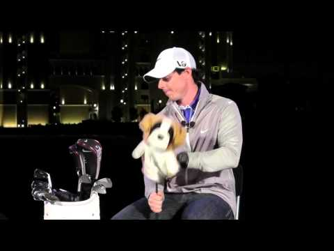 Rory McIlroy What's In The Bag – New 2013 Nike golf line-up
