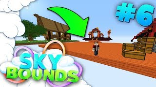 HOW TO BUILD A HOUSE **SUPER EASY** | SKYBOUNDS ISLAND #6 (Minecraft SkyBlock SMP)