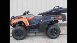 7. 2016 Arctic Cat TBX 700 EPS Orange