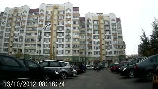Минск-д.Прусиново 13-10-12 (timelapse 4x)