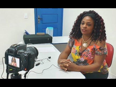 Lionilda Simão, Presidenta do Sintero, esclarece que não é hora de retornar aulas presenciais.