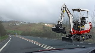Stolen Takeuchi TB216 Theft Recovery Operation Cumbria 140319