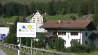 Chur Switzerland  city images : Drive from St. Moritz to Chur, Switzerland - September 2008