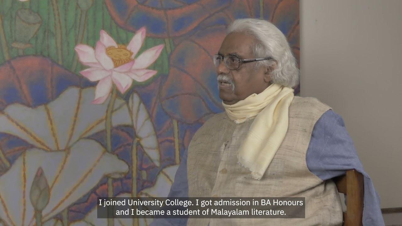 Ella Datta in Conversation with A. Ramachandran: Making of an Artist