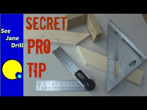 The Secret Formula for Making Perfect Miter Cuts When Less Than 90 Degrees
