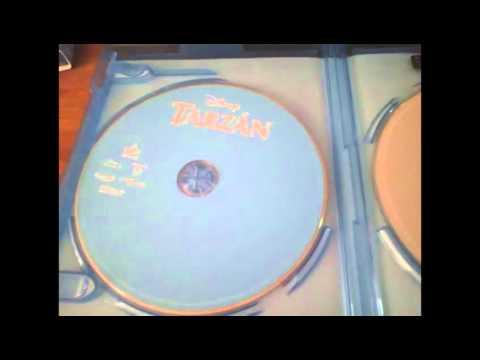 Unboxing| Disney PELICULAS Tarzan  (1999)Blu Ray.