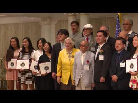 '커뮤니티의 미래' 8명 장학생 선발 8.23.16 KBS America News