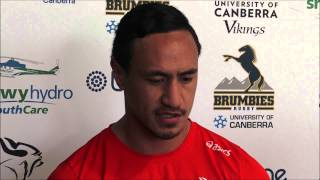 Lausii Taliauli re-signs with Brumbies for 2016 | Super Rugby Video Highlights