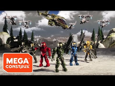 Mega Bloks - A compilation of the first four episodes of the incredibly popular toymation series, Mega Bloks Halo: Assault on Squad 45! For more info about Mega Bloks Hal...