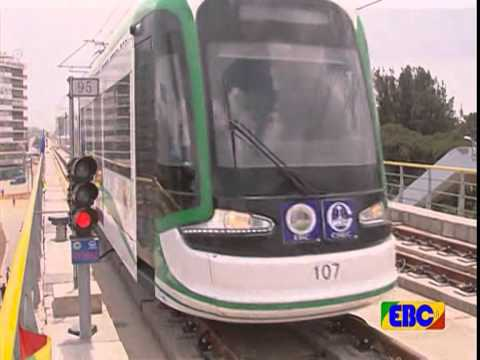 Ethiopia - Addis Ababa Light Rail Offical Commencement  on KEFET.COM