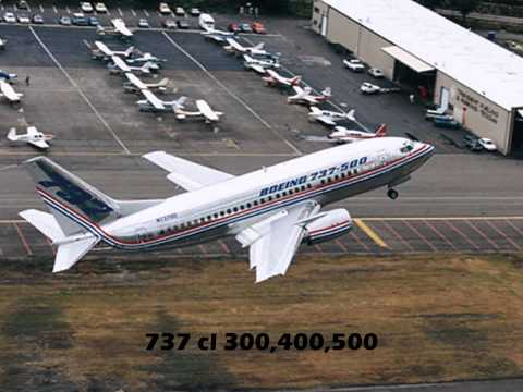 The Boeing 737 History