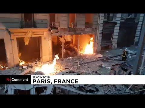 Η έκρηξη σε αρτοποιείο στο Παρίσι