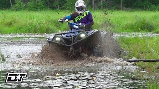 7. Transforming the 2019 Yamaha Grizzly into a Mud Machine
