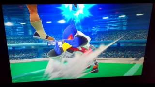 Falco with Little Mac's Moves (Smash 4 Moveset Swap)