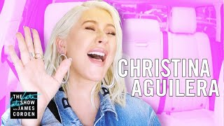 Video Christina Aguilera Carpool Karaoke - Extended Cut MP3, 3GP, MP4, WEBM, AVI, FLV Agustus 2018