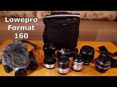Prezentare Geanta foto de umar Lowepro Format 160