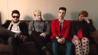 The Neon Trees Interview - Part 1 (Last.fm Sessions)