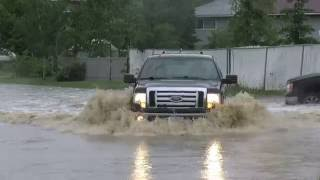 Dawson Creek (BC) Canada  city pictures gallery : Dawson Creek Flood Footage