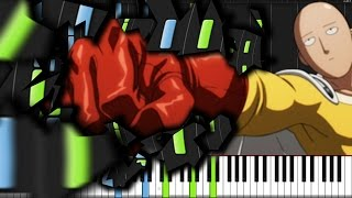 Main Theme - One Punch Man [Piano Tutorial]