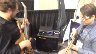 Bass Southwest NAMM 2014 Evan Marien and Federico Malaman