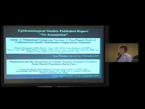 Dr. Thomas Burbacher, Thimerosal and the Search for Environmental Links to Autism IAOMT Chicago 2008