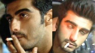 Arjun Kapoor Spotted Smoking Cigarette Live On Airport