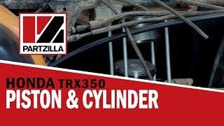3. Honda Rancher 350 Top End Rebuild Part 2: Piston Installation | Partzilla.com