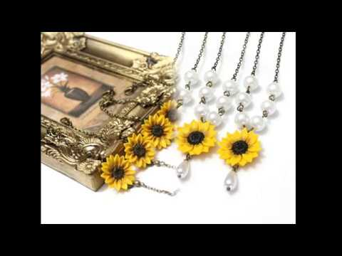 Sunflower Bridal Jewelry Sale