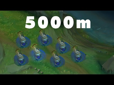 MaoKai Ném Chồi Non 5000m Top Plays LOL #3