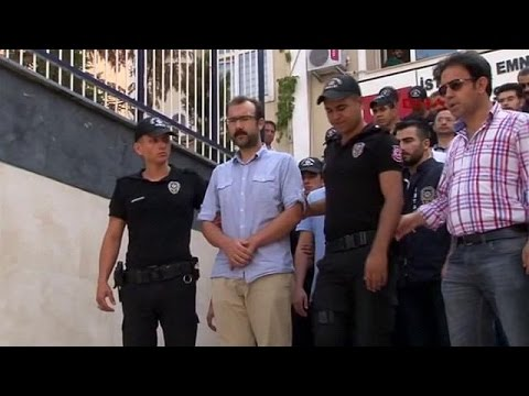 Τουρκία: Στον εισαγγελέα οι συλληφθέντες δημοσιογράφοι